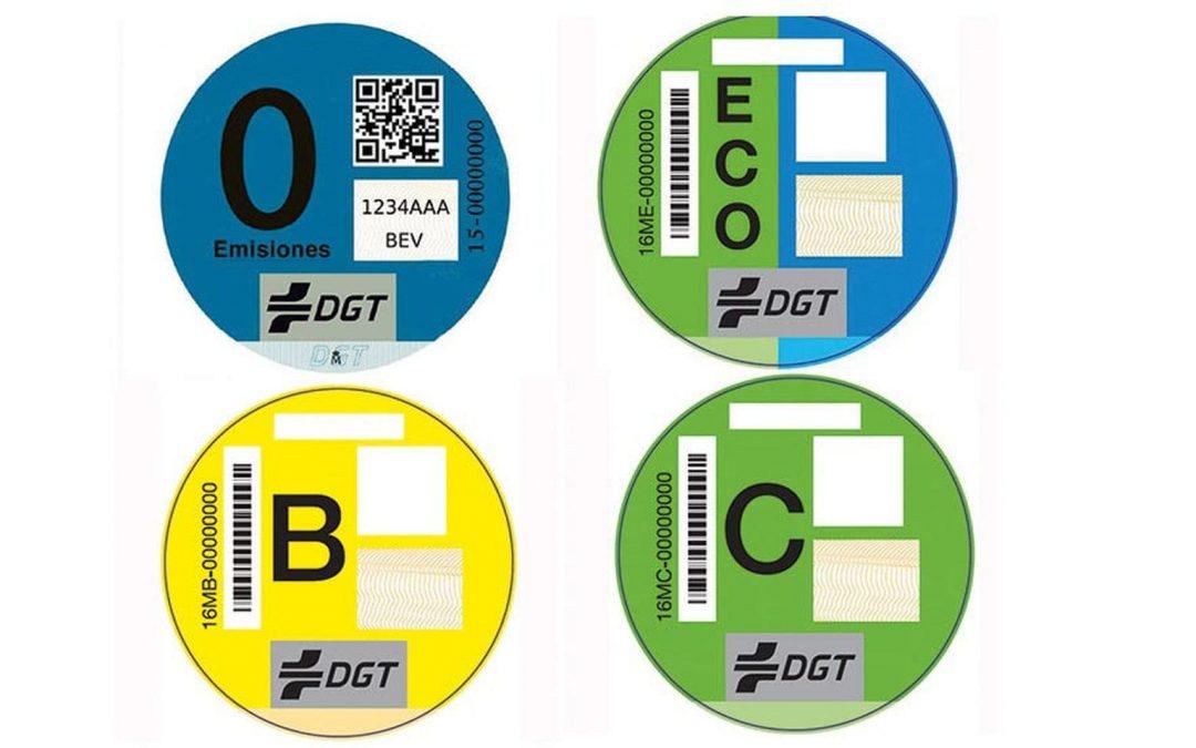 El nuevo sistema de etiquetado de la DGT